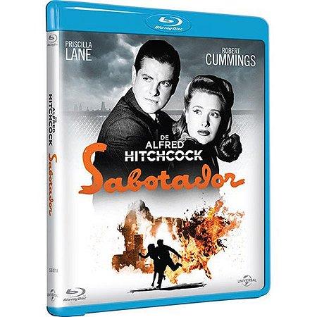 Blu-Ray - Sabotador - ALFRED HITCHCOCK