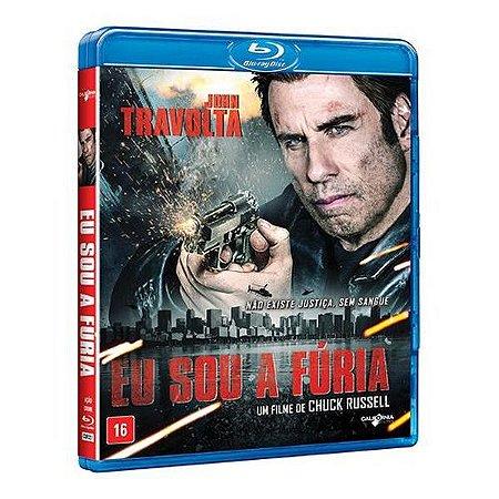 Blu-Ray - Eu Sou A Fúria - JOHN TRAVOLTA