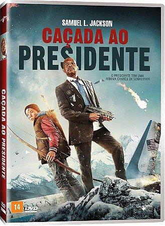 DVD CAÇADA AO PRESIDENTE - SAMUEL L. JACKSON