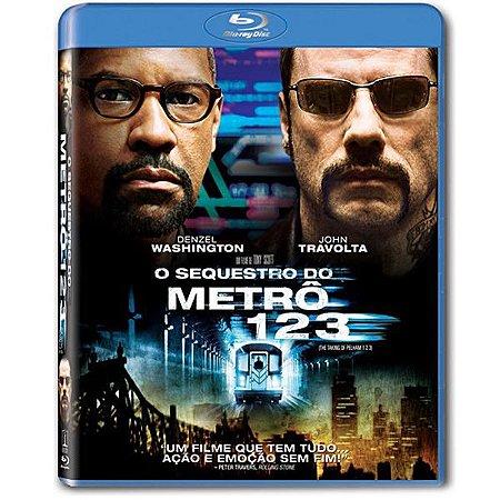 Blu-ray O Sequestro do Metrô 123 - JOHN TRAVOLTA