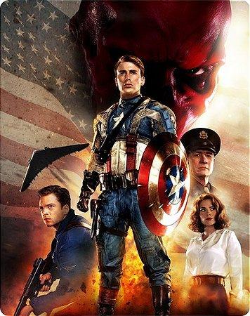 SteelBook Blu-Ray - Capitão América: O Primeiro Vingador