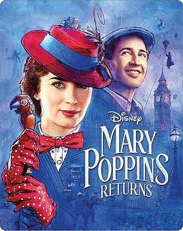 Steelbook - O Retorno de Mary Poppins