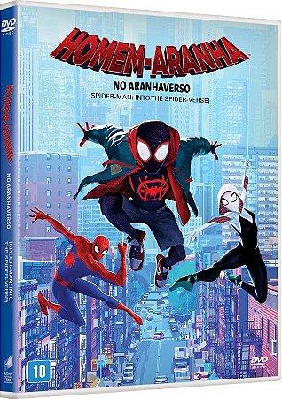DVD  Homem Aranha No Aranhaverso