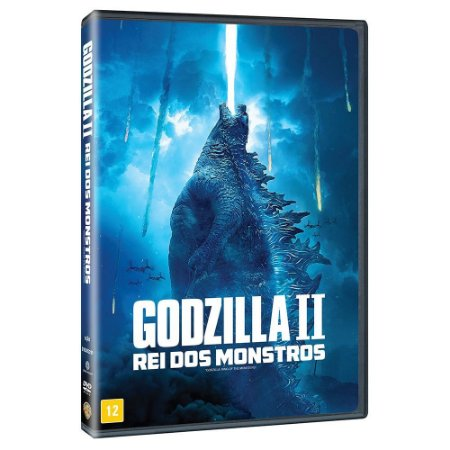 DVD GODZILLA 2 REI DOS MONSTROS