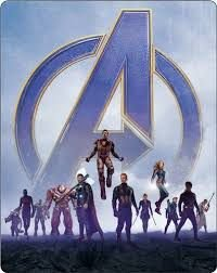 Blu-Ray Vingadores: Ultimato - Steelbook (2 Bds)