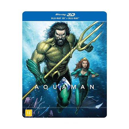 Steelbook Blu Ray  E  Blu Ray 3D  Aquaman