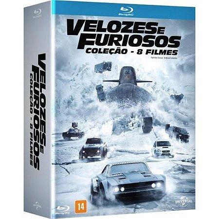 Blu-Ray Coleção VELOZES E FURIOSOS 8 FILMES