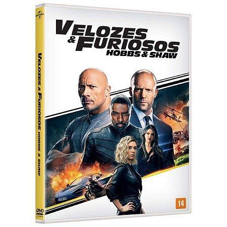 DVD  - VELOZES E FURIOSOS HOBBS E SHAW