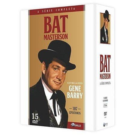 Box Bat Masterson - A Série Completa - 15 Discos - Dvd