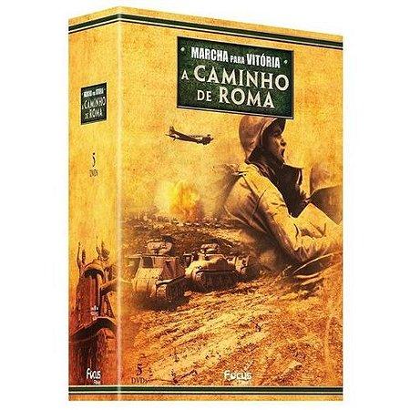 DVD Box A Caminho De Roma - Marcha Para Vitória - 5 DISCOS