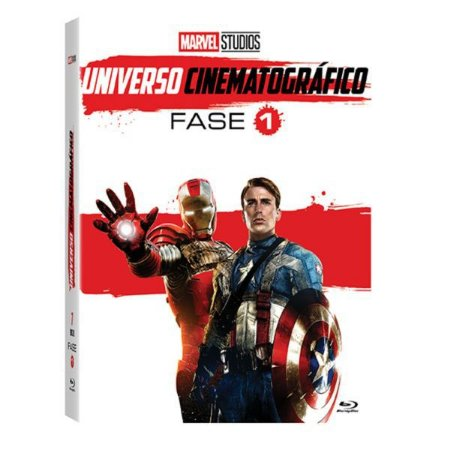 BLU RAY BOX MARVEL UNIVERSO CINEMATOGRÁFICO - FASE 1