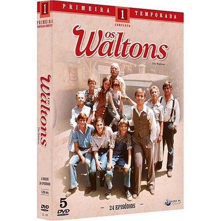 Os Waltons - 1ª Temporada Completa - 5 Discos