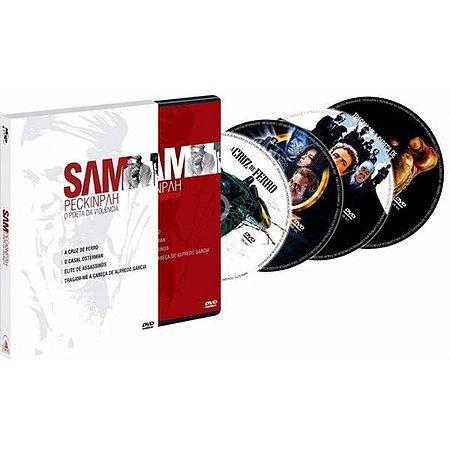 Dvd - Sam Peckinpah - O Poeta Da Violência (4 Dvds)