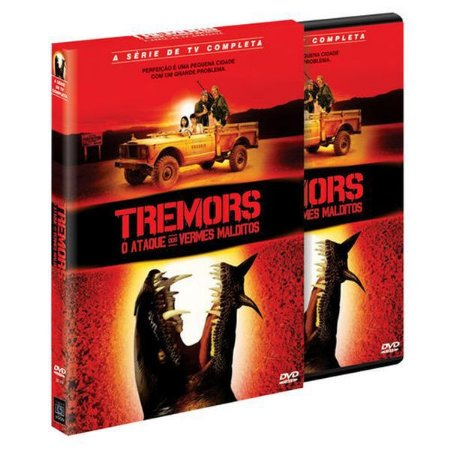 DVD Tremors - O Ataque Dos Vermes Malditos - A Série Completa