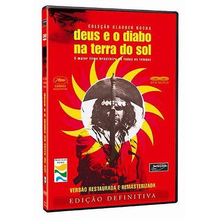 DVD  DEUS  E O DIABO NA TERRA DO SOL (2 DISCOS) - VERSÁTIL
