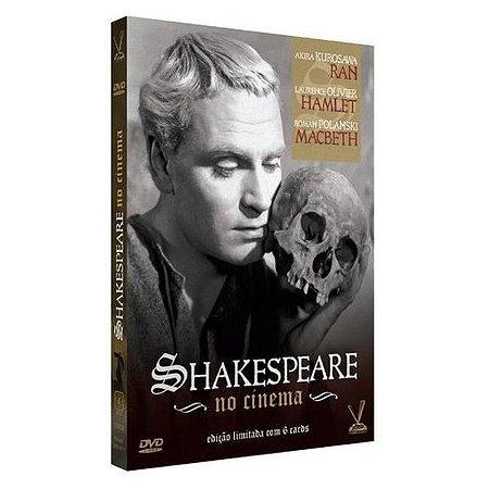 DVD Shakespeare no Cinema
