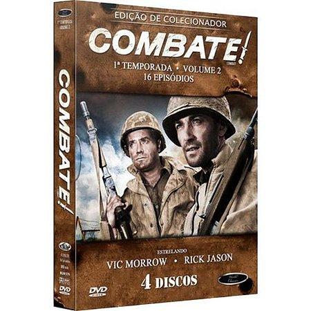 DVD Combate Primeira Temporada Vol 02 ( 4 Discos )