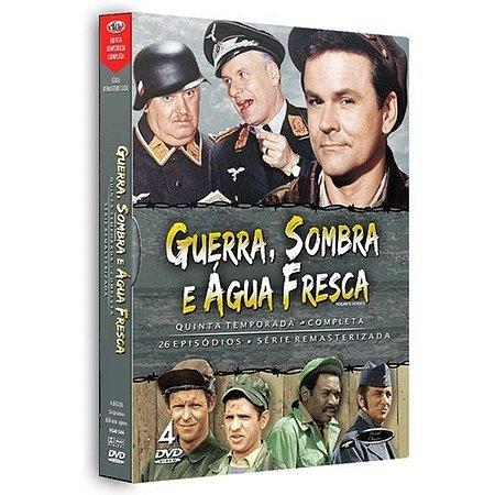 Dvd Guerra, Sombra E Àgua Fresca - 5ª Temporada Completa