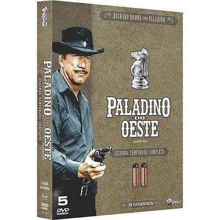 DVD - Paladino do Oeste - 2ª Temporada Completa