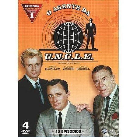 Dvd - O Agente Da U.N.C.L.E - 1ª Temporada - Vol. 1