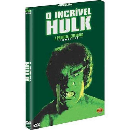 DVD - O Incrível Hulk - 4 Discos