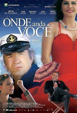 DVD Onde Anda Você - José Wilker