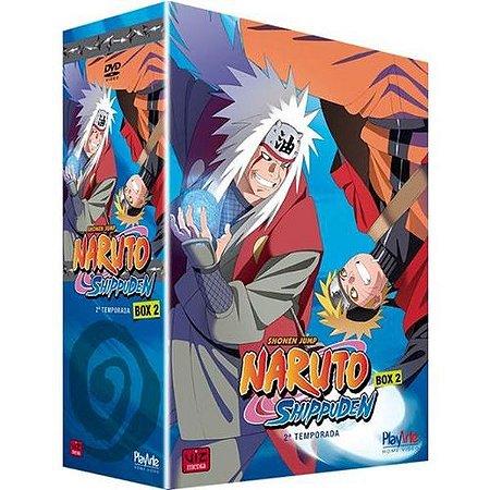 DVD Naruto Shippuden - Box 2- 2ª Temporada - 5 Discos