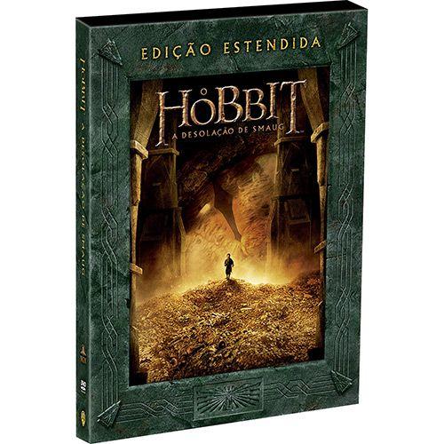 DVD O Hobbit A Desolação de Smaug - Ed. Estendida (5 Discos)