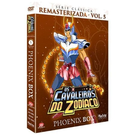 DVD Os Cavaleiros do Zodíaco - SERIE CLASSICA - Phoenix Vol5