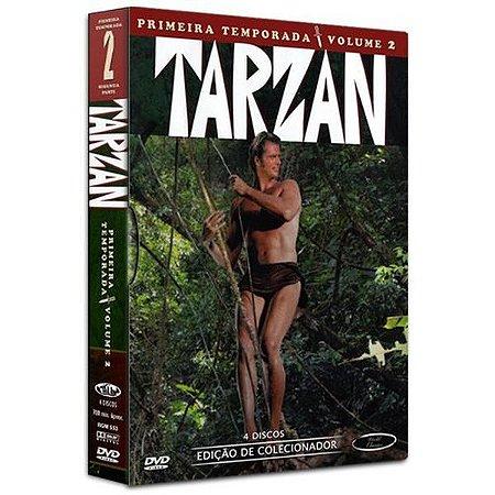 DVD Tarzan - Primeira Temporada Volume 2  (4 Dvds)