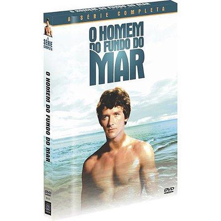 DVD O Homem Do Fundo Do Mar - A Série Completa ( 4 DISCOS )