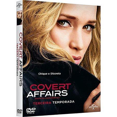 DVD - Covert Affairs - 3ª Temporada (4 Discos)
