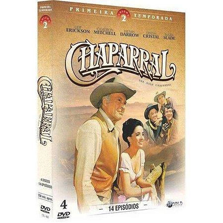 Dvd Chaparral - 1ª Temporada: Vol.2 (4 DISCOS)