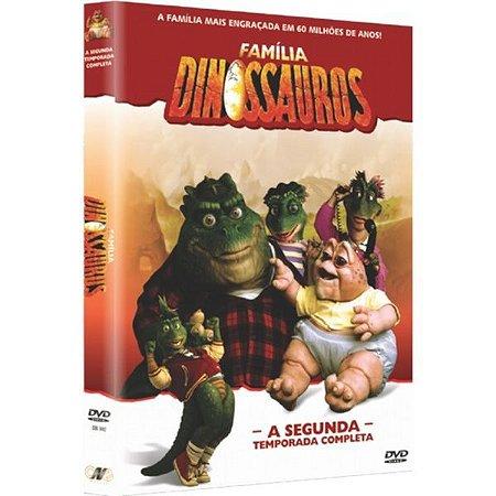 DVD BOX A FAMILIA DINOSSAUROS - 2ª TEMPORADA (4 DISCOS)