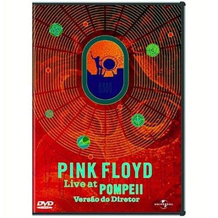 DVD - PINK FLOYD - LIVE AT THE POMPEII (VERSÃO DO DIRETOR)