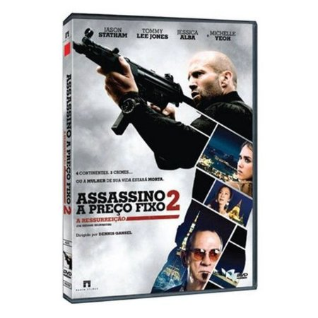 DVD ASSASSINO A PRECO FIXO 2 A RESSURREICAO