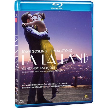 BLU-RAY LA LA LAND CANTANDO ESTACOES