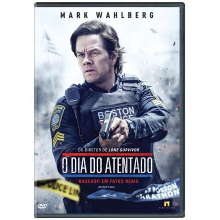 DVD O DIA DO ATENTADO - Mark Wahlberg
