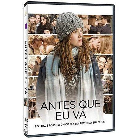 DVD ANTES QUE EU VA