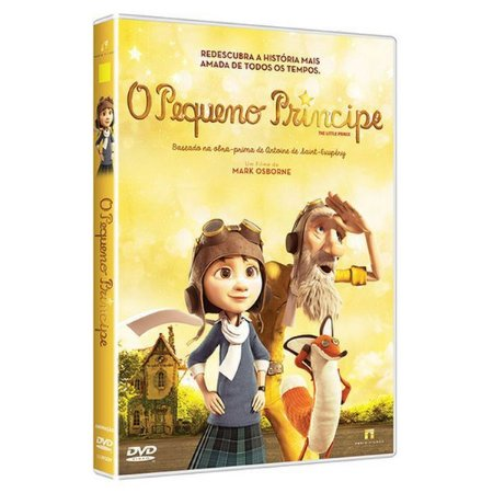 DVD - O Pequeno Príncipe - The Little Prince