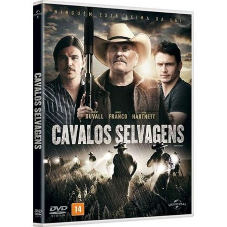 DVD  - CAVALOS SELVAGENS