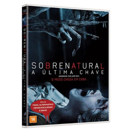 DVD  - SOBRENATURAL: A ULTIMA CHAVE