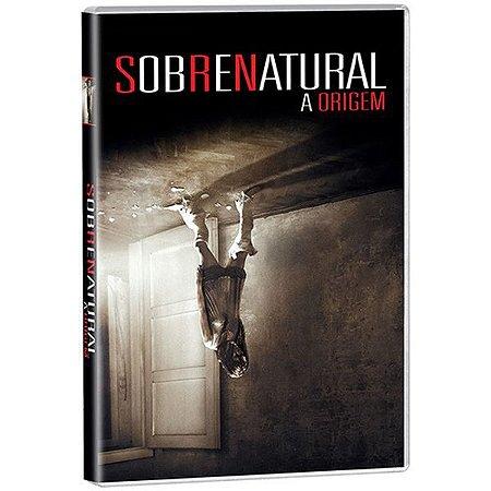 DVD  - SOBRENATURAL - A ORIGEM
