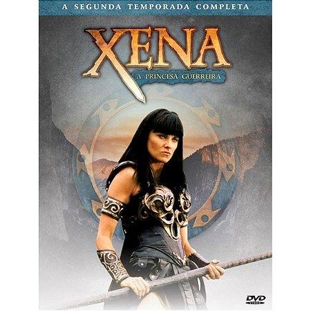 BOX DVD XENA - A PRINCESA GUERREIRA - 2ª TEMPORADA (4 DISCOS)