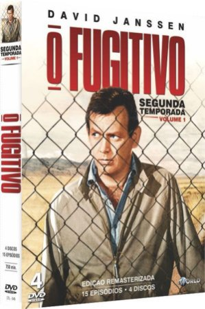 BOX DVD O FUGITIVO - 2ª TEMPORADA - VOL. 1 ( 4 DISCOS )