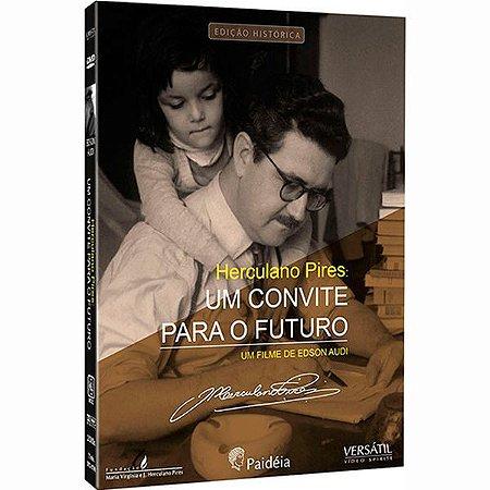 DVD Herculano Pires - Um Convite para o Futuro (digistack com 2 Dvds)