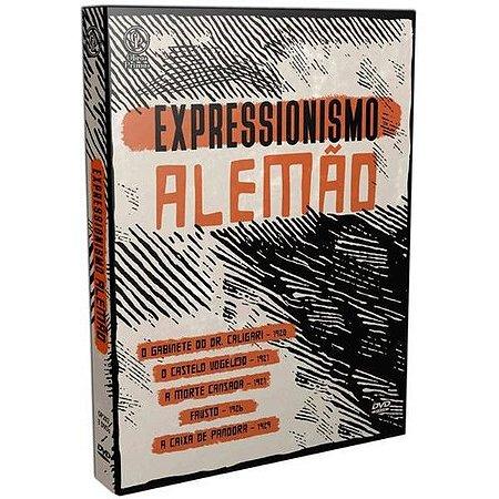 Dvd Expressionismo Alemão (3 DISCOS)