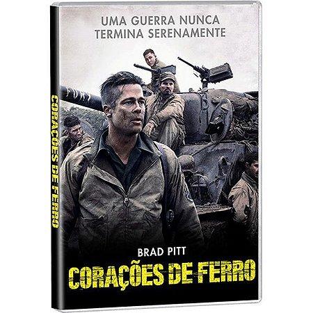 DVD - CORACOES DE FERRO