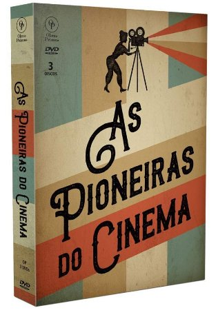 Dvd - As Pioneiras do Cinema - 3 DISCOS
