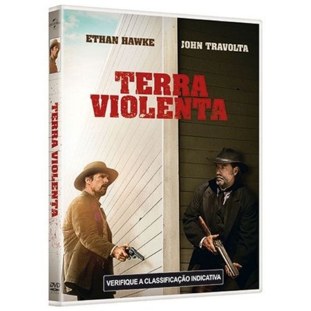 DVD - Terra Violenta - John Travolta
